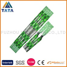 Custom Design One Time Use Disposable Wristband For Music Festival