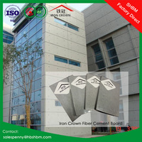6mm 8mm 10mm 12mm non-asbestos decorative cement board interior drywall exterior wall panel fiber cement siding board