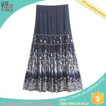 Ys075 contemporain unique nouveau design jupe longue musulman
