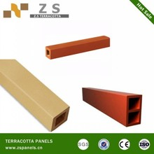 Special Design Outdoor Glazed Terracotta Exterior Wall Cladding Stick Made In China