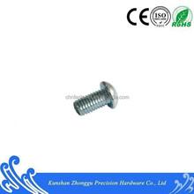 ISO7380 Hex socket pan head screw carbon steel10.9grade white zinc plating