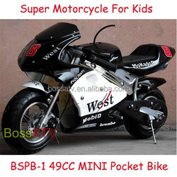 Good Quality Electric Start Kids Motorcycle 49CC Pocket Bike