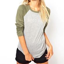 2013 Diseño Puro Algodón Mujeres T-shirt Remera