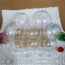 Christmas Decoration Supplies Type and Outdoor Christmas Decoration Christmas Item Type Clear Plastic Ball Container