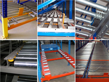 Storage rack/gravity roller racks