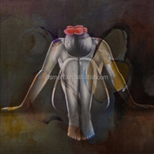 Professional Manufacturer Cheapest Price Handpainted Abstract Oil Painting of Angel Canvas for Home Wall Art Decoration