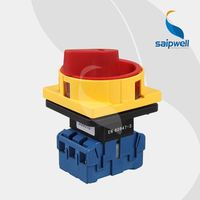 Saip 16A, 20A, 25A, 32A, 63A, 100A electric motor reversing switch