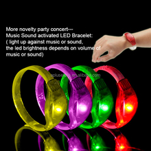 2016 Flashing LED Light Silicon Wristband With Customized Logo For Night Club, Pubs, Concert, Holiday, Night Racing