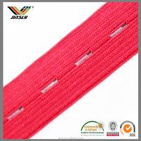 hot sell elastic button loop tape / webbing / jacquard webbing