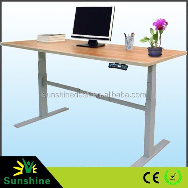 Sit Stand Electric Adjustable Height Desk Buy Sit Stand