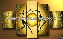 High quality hand-painted figure oil painting Modern abstract philippine oil paintings