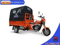 Best new 3 wheel motorcycle with loading cabin