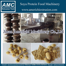 Textured vegetable full fat soya extruder, soybean extruder machine