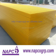 Marine FRP fiberglass grating grille for treads and stairs