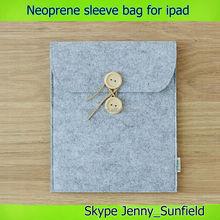 Sleeve bag Neoprene case for ipad air mini 2 3 4 ,for ipad case sleeve , for ipad air case neoprene