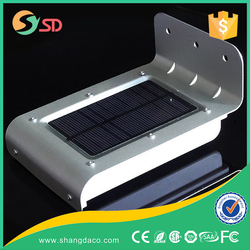 2015 hot 3.6v 1W solar rechargeable lantern with motion sensor