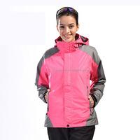 manufacture 2016 fashion waterproof girls blazer jacket 3xl women ski suit