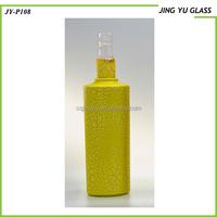 Wholesale 500ml Empty Round Spary Glass bottle for vodka,rum,liquor