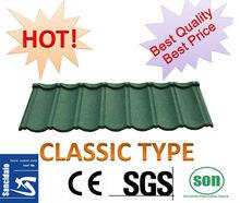 New Sunlight popular colorful stone coated metal roofing tile/metal corrugated tile roofing/decorative roof tile asphalt shingle