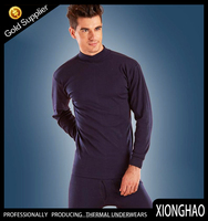 High collar breathable heated sexy men long johns made in China