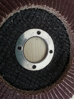 Metal Polishing Brown Corundum Material Flap Disc