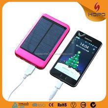 5000 mah Solar Power Bank Panel Portable Charger