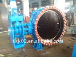 Hot!!! stainless steel hydraulic control butterfly valve