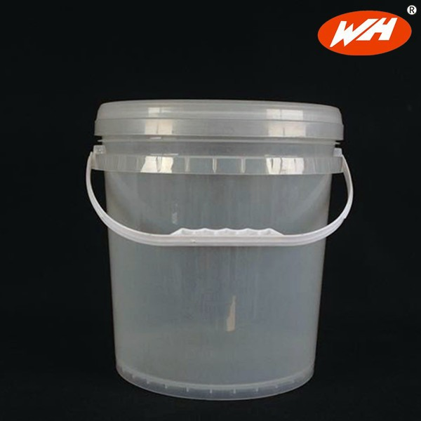 10l Clear Plastic Bucket With Lid And Handle Paint Bucket