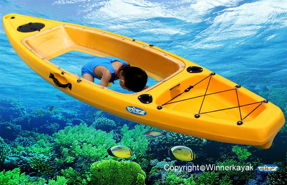transparent kayak bottom clear kayak from winner kayak