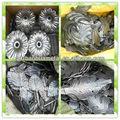 ornamentales de hierro forjado hojas