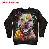 Dog animal fashionable sweatshirts for kids