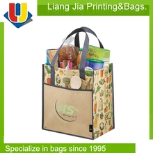 Extra Large Recycled PP Non Woven Tote Shopping Grocery Bag