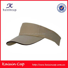 2015 wholesale cheap blank polyester sun visor cap