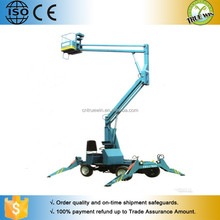 10m portable hydraulic articulated lift