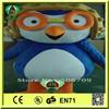 HI EN71 2015 newest design fashion custom pororo fur costume, funny pororo mascots and costumes