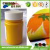 pigment dispersions Medium yellow for textiles printing