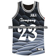 Custom 100% Polyester Sublimated American Football Jersey pattern grey