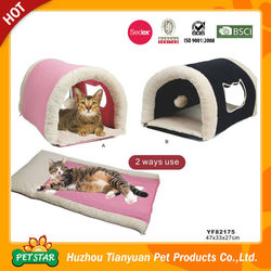 Foldable Cave 2 Ways Use Cat Bed Supplier