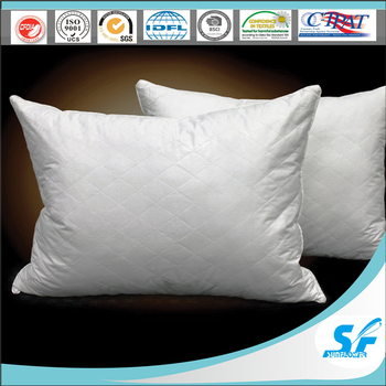 Cheap hotel comfort stock diamond quilted pillow bamboo for Comfort inn pillows