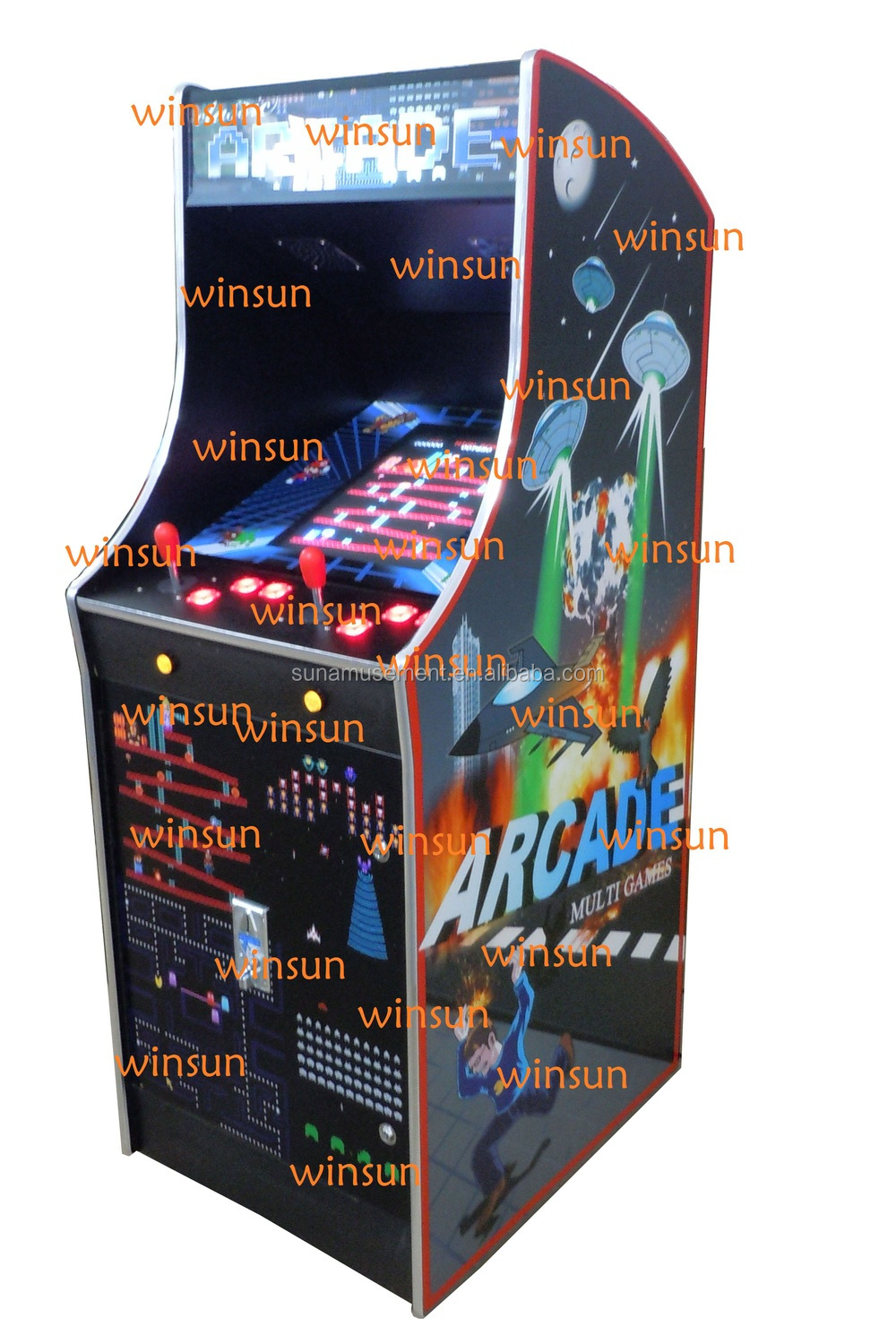 upright arcade game machine WSA-068