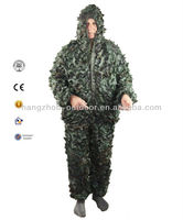 """Lightweight 100% Net Fabric Camouflage Hunting Suits """"Ghillie"""""""