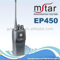 Wholesale EP450 cheap intercom portable police walkie talkie for motorola two way radio