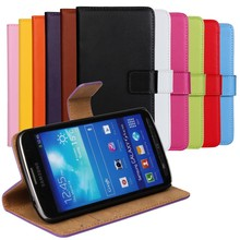 luxury leather wallet card flip stand cover case for samsung galaxy s4 active i9295