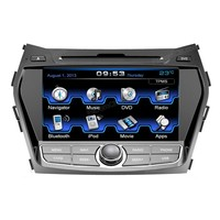 car dvd gps navigation 2din car stereo audio car gps bluetooth ipod USB SD for Hyundai IX45 2012
