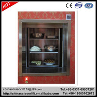 Kitchen food elevator, dumbwaiter lift food lift