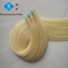 Trade Assurance Light Blonde Human 30 inch remy tape hair extensions