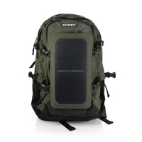 wholesale solar panel charger bag, solar backpack for cycling