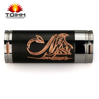 New E cig products mechanical mod 22650 black copper stingray mod wholesale