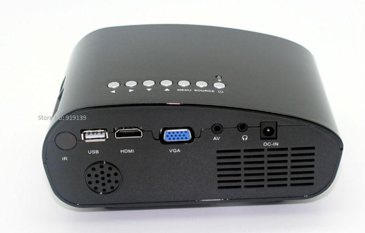 Aliexpress bid sale digital mini projector with hdmi usb for Good mini projector