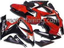 GSXR600 06 07/GSXR750 06 07 motor fairing set for suzuki motor full fairing/bodykits/bodywork free with the seat cover
